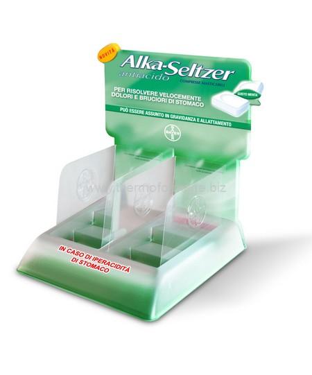 thermoformage -Présentoir de comptoir en plastique